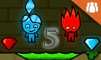 Fireboy und Watergirl 5 Elemente
