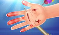 Hände verarzten