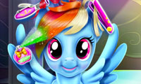 Rainbow Dash: Tolle Frisuren