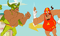 Super Wrestlers: Slap's Fury