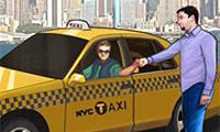 Taxifahrt durch New York